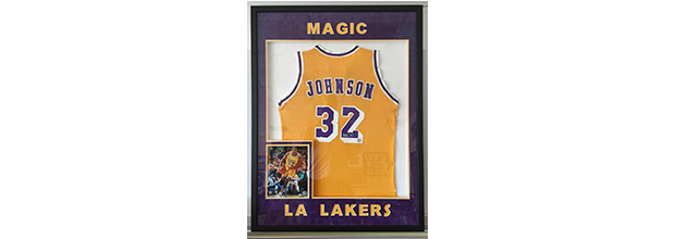 Sports Jersey Framing | Kar-Lynn Art & Frames - Arlington, TX